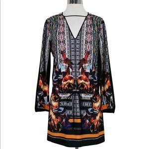 Clover Canyon Moroccan sheath dress - small